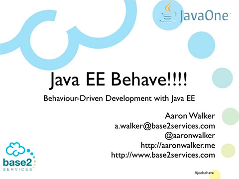 JEE Behave - Behaviour driven development