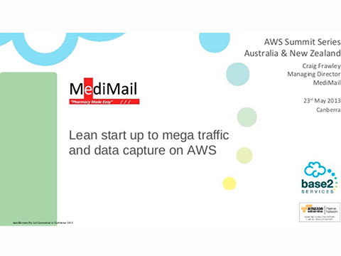 Medimail presents on AWS and base2Services