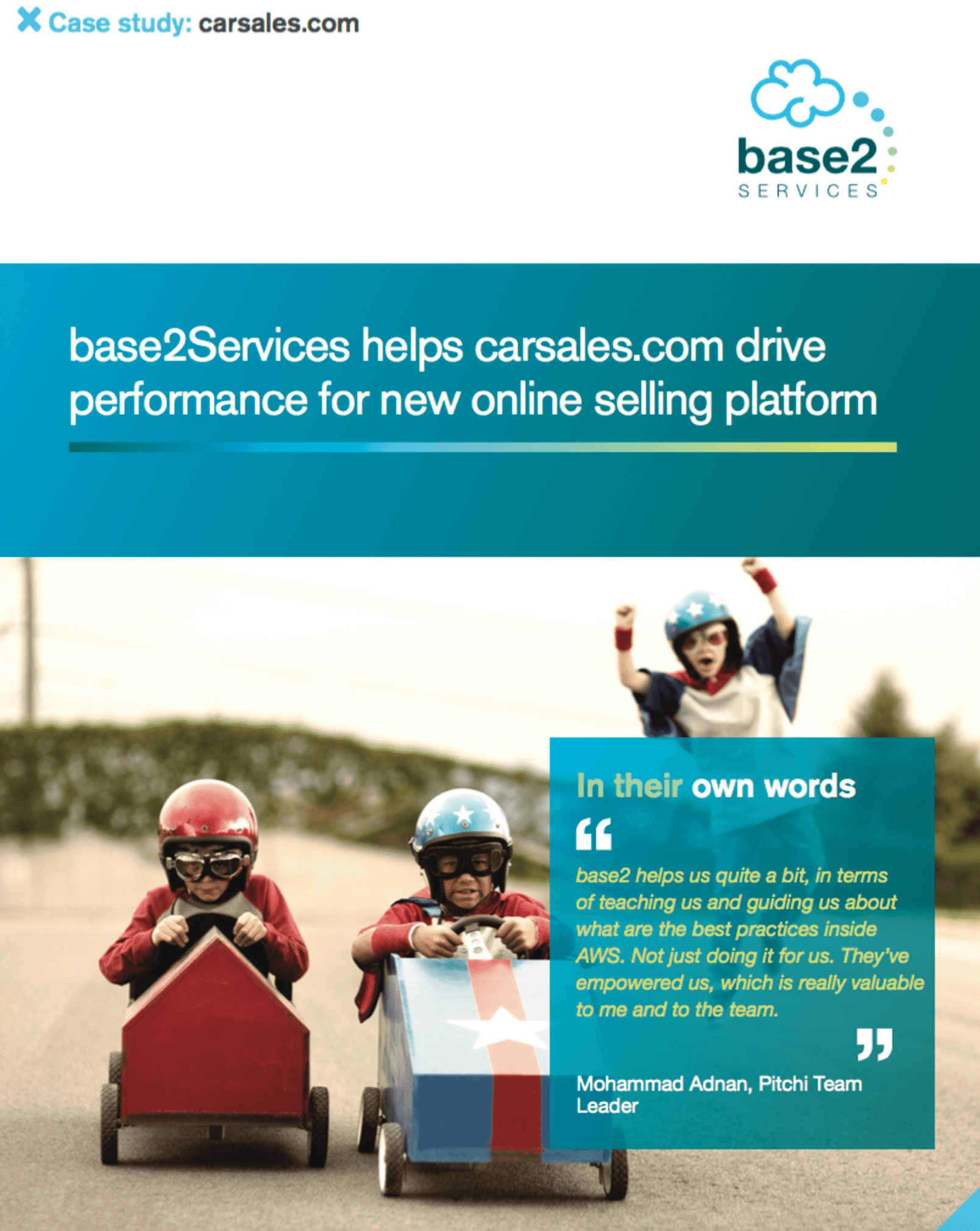 Carsales Casestudy | DevOps Consulting and Managed Services on AWS